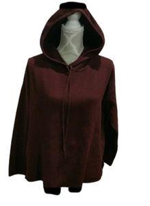Massimo dutti soft burgundy hoodie